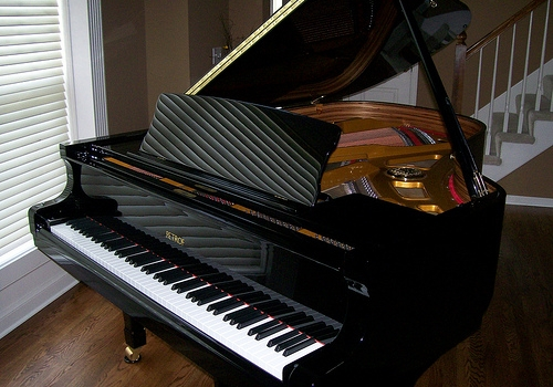 Aprenent la passió per la música