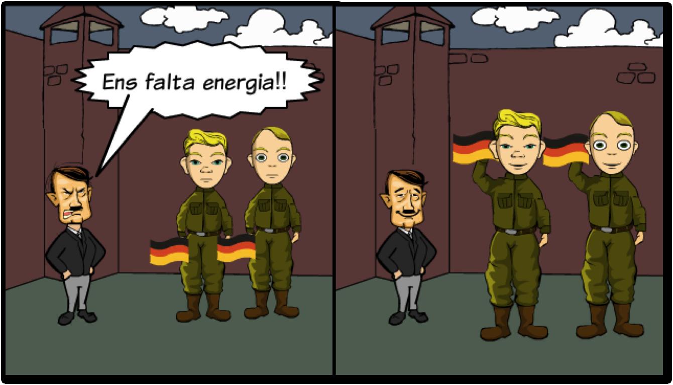 Alemanys amb falta d'energia