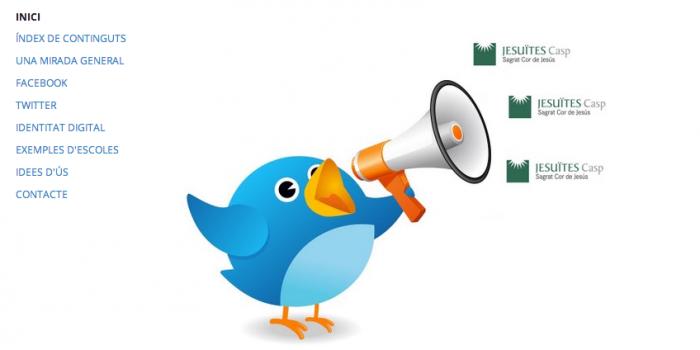 Centres educatius a les xarxes socials